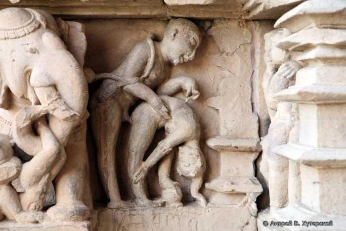 Секс в древних картинах индии